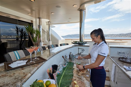 The life of a superyacht Chef